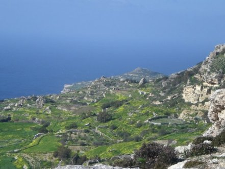 View from Dingli cliffs